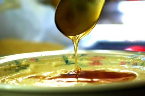 Θυμαρίσιο μέλι για την γέμιση.